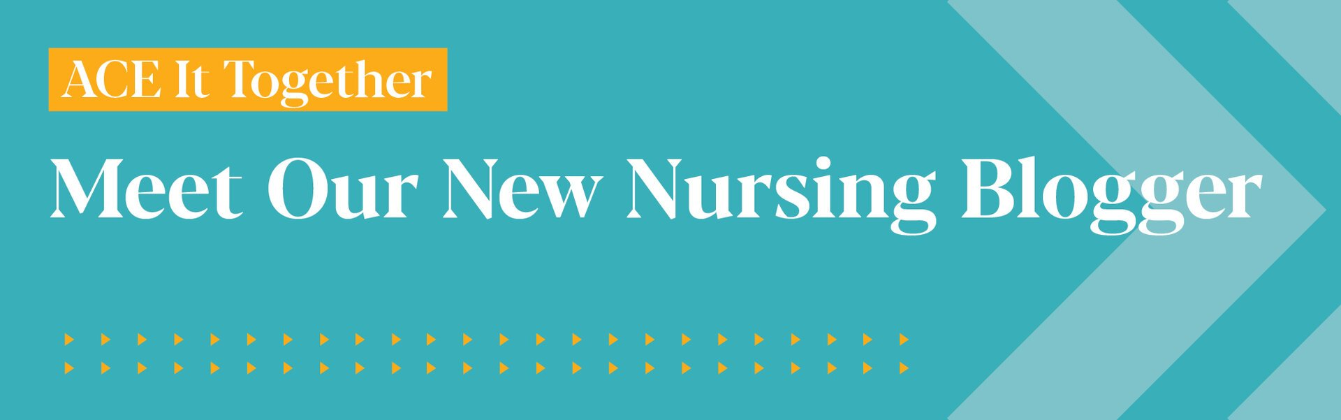 Meet Susie: ACE's New Nursing Student Blogger