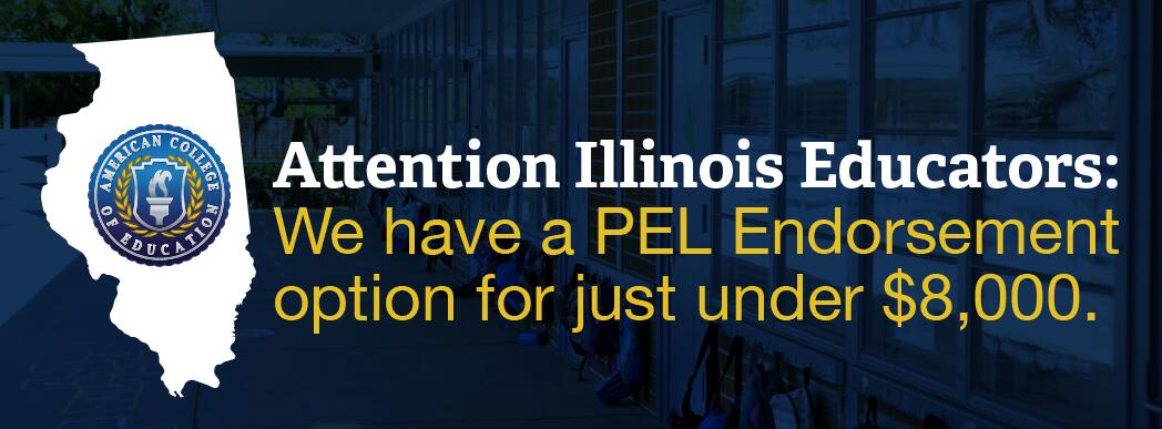 PEL Administrative Endorsement add on at American College of Education