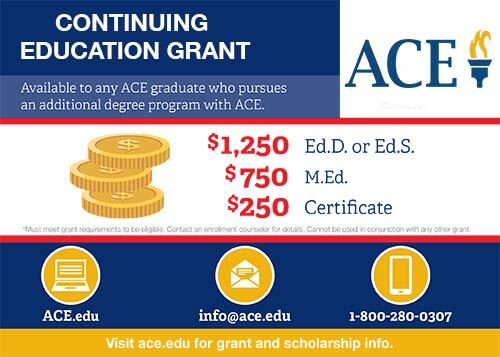 Continuing Education Grant at American College of Education